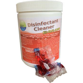 Aqua Chempacs Disinfectant Cleaner 20ct