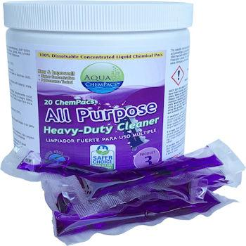 Aqua ChemPacs All Purpose Heavy Duty Cleaner 20ct