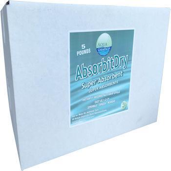 Aqua ChemPacs AbsorbitDry 5# Box