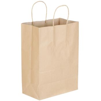 Duro Shopping Bag Kraft 10x5x13