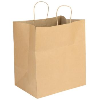 Duro Shopping Bag 63# Kraft 15x9x16.25