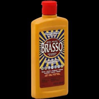 Brasso Metal Polish 8oz.
