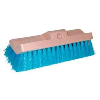 Blue Stiff Bristle Plastic Brush