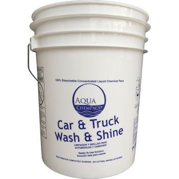 Car Wash White Bucket 5 Gallon
