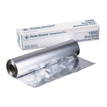"Heavy Duty Aluminum Foil Roll 18""x500"