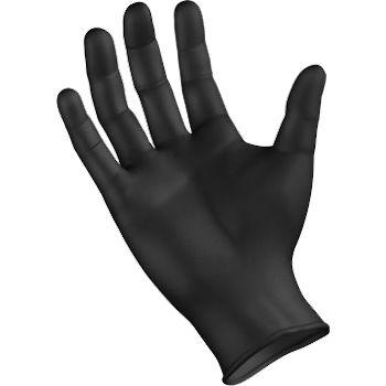 SemperForce Black Nitrile Powder Free Gloves