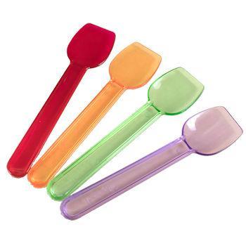 Gelato Spoons Rainbow Colors