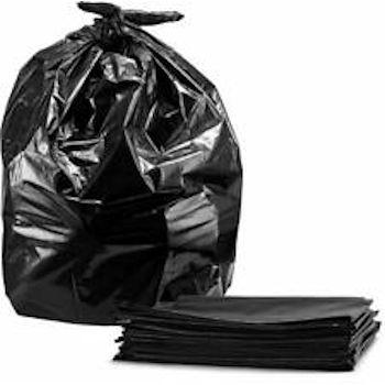 Trash Liner 43x47 1.25mil Black 56 Gallon