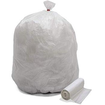 Trash Liner 30x37 8micron Natural 20-30 Gallon