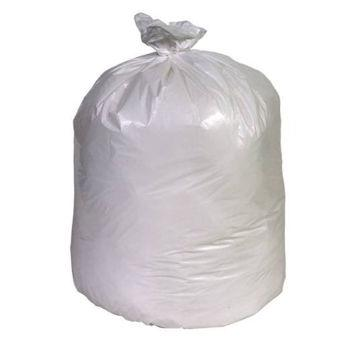 Trash Liner 30x37 8mil White 20-30 Gallon