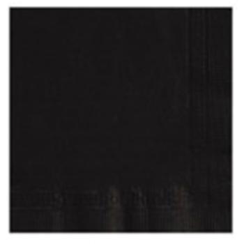 Black Beverage Napkins 2000ct
