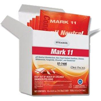 Stearns Mark 11 Disinfectant Cleaner One Packs