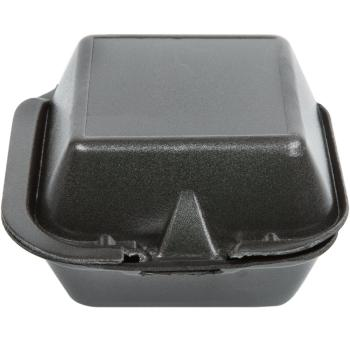 Sandwich To-Go Foam Container Black