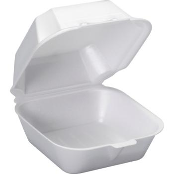 Sandwich To-Go Foam Container White