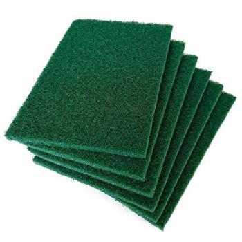 "Scour Scrub Green Pads 6""x9"""