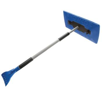 Snow Joe 2-in-1 Telescoping Jumbo Snow Broom + Ice Scraper