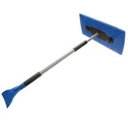 Snow Joe 2-in-1 Telescoping Jumbo Snow Broom + Ice Scraper