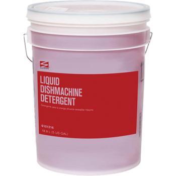 Swisher Dark Red Liquid Dishmachine Detergent 5Gallon