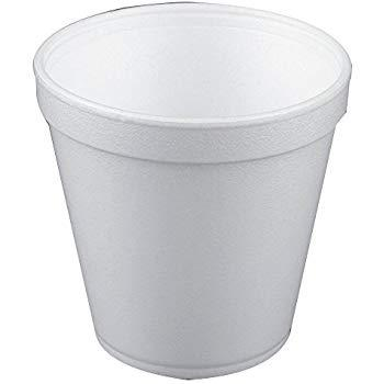 Convermex 16oz Foam Squat Container