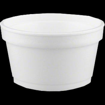 Convermex 6oz Foam Squat Container