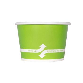 Karat ECO 8oz. Paper Squat Container