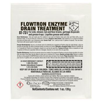Stearns Flowtron Enzyme Drain Treatment One Packs