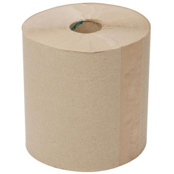 "Hardwound Paper Towels Natural 8""x800"