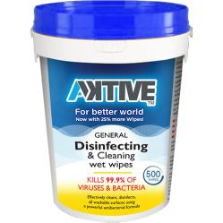 AKTive Disinfecting Wipes 500ct.