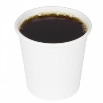 Karat® 4oz White Paper Hot Cup (62mm)