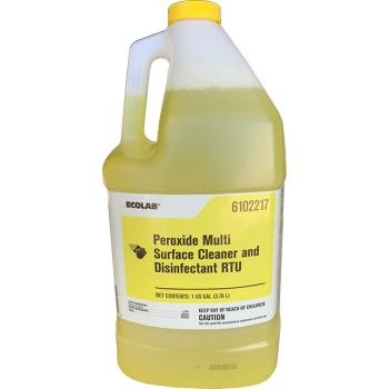Ecolab Peroxide Multi Surface Cleaner And Disinfectant RTU 4/1Gal