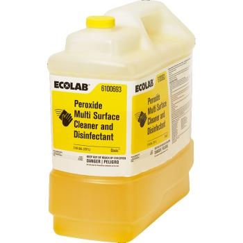 Ecolab Peroxide Multi Surface Cleaner And Disinfectant Concentrate 2Gal