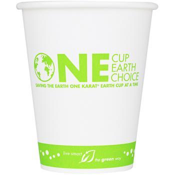 Karat Earth 8oz Eco-Friendly Paper Hot Cups (80mm)