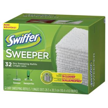 Swiffer Sweeper Refill 32ct